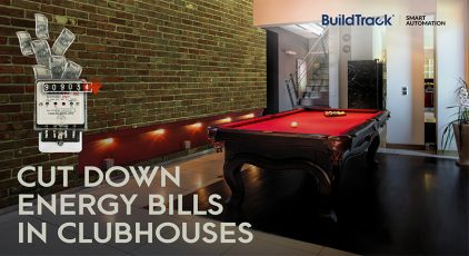 enhance energy efficiency in clubhouses without changing the existing assets