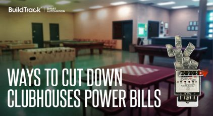 WAYS TO CUT DOWN POWER BILLS FOR CLUBHOUSES