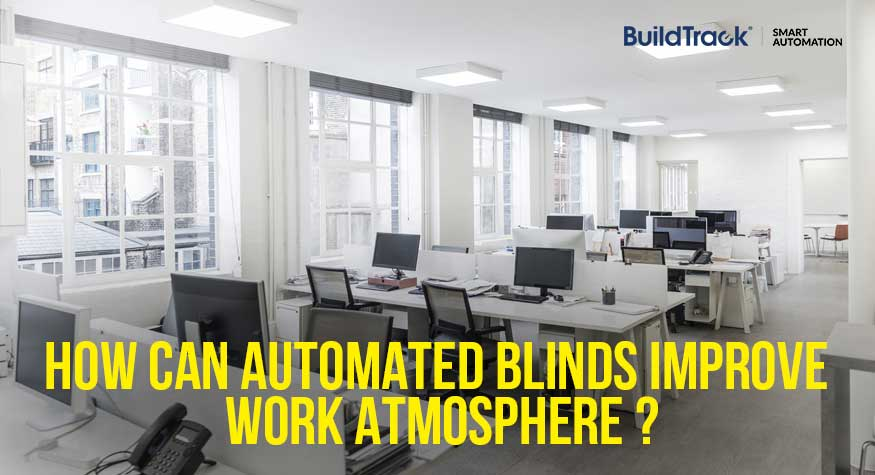 Automated curtains or blinds are a very useful solution