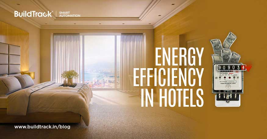 hotel automation with energy saving option