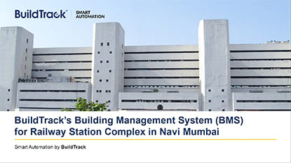 Save BuildTrack's Building Management System Case Study