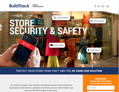 buildtrack store security solution