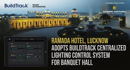Ramada Hotel Adopts Centralized Lighting Control Lucknow