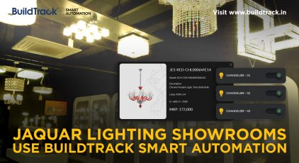 Buildtrack wireless lighting automation system