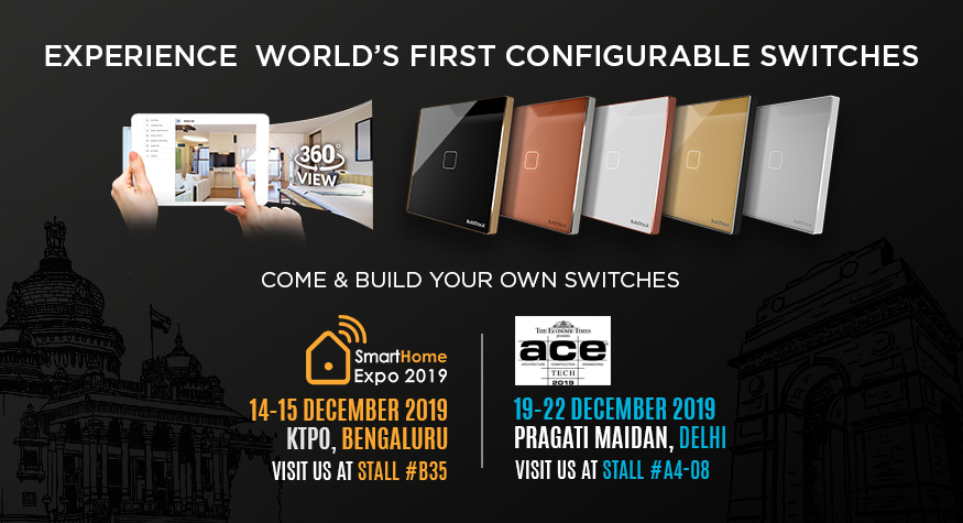BuildTrack Showcases at Smart Home Expo Bengaluru and ACETECH Delhi