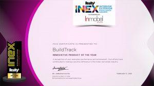 INEX Award won by Buildtrack Smart Automation Delhi