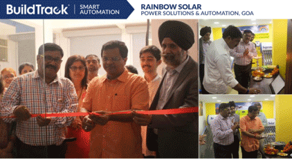 Rainbow Solar Power Solutions & Home Automations are the Authorized Dealer for BuildTrack