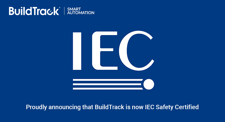 BuildTrack Gets IEC (International Electrotechnical Commission) Safety Certification