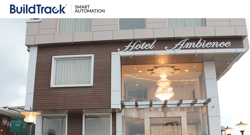 BuildTrack Wireless Automation System for Hotel Ambience Udaipur